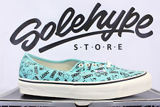 VANS VAULT OG AUTHENTIC LX CAMP SNOOPY AND THE GANG TURQUOISE VN 0UDDDMW SZ 12