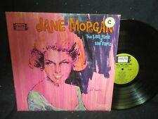 "Jane Morgan ""The Last Time I Saw Paris"" LP"