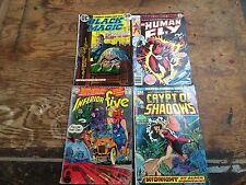 FIRST ISSUE Silver Bronze Age Four Book Lot Horror Superhero Great Reads CHEAP !