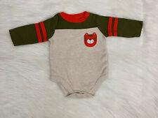 0-3 Months Long Sleeve Tiger Shirt Baby Boy Clothes Shirt Kids Garanimals