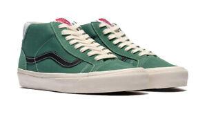 VANS OG Mid Skool 37 L Suede/Canvas Fir Men's Size 11 Skate Shoes VN0A4BTRVYX