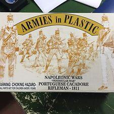 1/32 54mm Napoleonic Portuguese Cacadore Riflemen 1811 # 5504