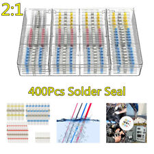 400x Car Solder Insulated Seal Heat Shrink Wire Splice Butt Connector Kit Boxed Fits Mitsubishi Diamante