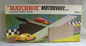 Matchbox Motorway 3803 2 Lane Teeter Track