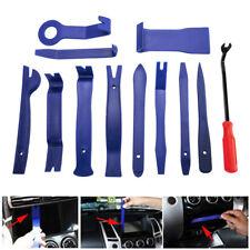 12 pcs Plastic Car Radio Door Clip Panel Trim Dash Audio Removal Pry Tool Kit AU