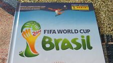 NEW PANINI FIFA WORLD CUP BRAZIL 2014 MUNDIAL BRASIL HARD COVER STICKERS ALBUM