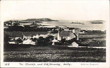 Scilly. The Church & Old Grimsby # 108 by Gibson.