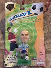 NEW SOCCER HEADZ HEADS VERON Mini BOBBLEHEAD Football Argentina NIP Damaged Card