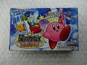 Hoshi no Kirby Kagami no Daimeikyu Nintendo Gameboy Advance GBA Japan
