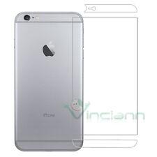 Pellicola protettiva posteriore TRASPARENTE per iPhone 6 Plus 6S 5.5 retro back