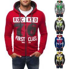 Sweatshirts Herren-Kapuzenpullover & -Sweats aus Baumwolle mit normaler Passform