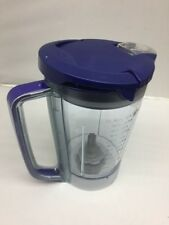 NEW Ninja Kitchen System Pulse 48 oz Pitcher Cup+ Lid for BL250 BL206 BL207 BLUE