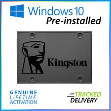 120GB 240GB 480GB Windows 10 Pro SSD + LICENCE Solid State Hard Drive Laptop 2.5