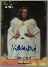 2017 Topps Doctor Who Signature Lalla Ward Yellow 20/25 Autograph