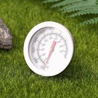 Barbecue BBQ Smoker Grill Thermometer Temperaturanzeige 50-500 ° Edelstahl Neu