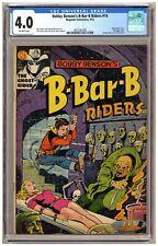 Bobby Benson's B-Bar-B Riders 14 (CGC 4.0) Classic horror-c decapitation bondage