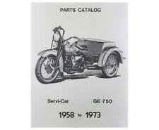 Factory Spare Parts Catalog for Harley 1958 - 1973 Servi-Car 128 p