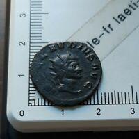 H04420 pièce de monnaie romaine antoninien à identifier