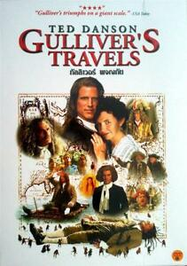 Gulliver's Travels (1996) DVD PAL COLOR - Ted Danson, Peter O'Toole, Adventure