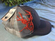 DRI DUCK WILDLIFE SERIES CAP ORANGE BUCK DEER HAT