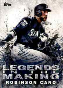 2018 Topps Legends In The Making Robinson Cano #LTM-RC (113821)
