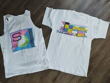 Vintage 80s T Shirt-Tank M 1986 Stubbies International Surfing Single Stitch