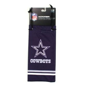 Dallas Cowboys NFL Microfiber Glasses Bag