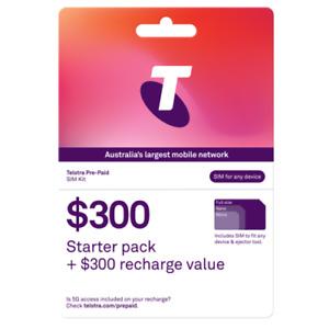 Telstra $300 Prepaid SIM Starter Kit