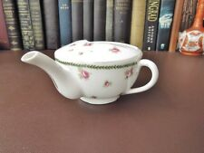 Victorian Feeder/Invalid Cup-Porcelain Feeder Cup-Roses Decoration