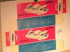 REPLIQUE  BOITE MERCEDES 300 SL TEKNO 1959