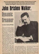 John Brisben Walker - Dynamic Dreamer of Denver, CO+Benedict,Boyson,Calderhead