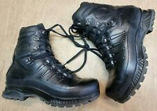 More details for meindl german army sf issue black leather goretex combat boots various sizes