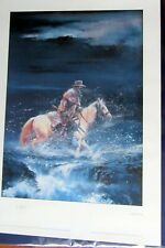 LITHOGRAPHIE MARSHAL BLUEBERRY MISSION SHERMAN 500 EX 1993 SIGNEE NR ETAT NEUF