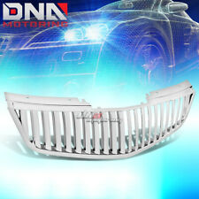 FOR 06-11 CADILLAC DTS CHROME POLISHED VERTICAL FRONT UPPER GRILLE GUARD FRAME
