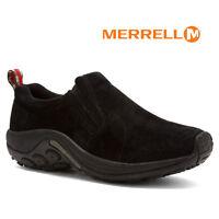 Mens Merrell Jungle Moc Slip-on MIDNIGHT Suede Comfy Men Shoes All Sizes NIB