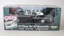 "1:18 Ertl 1955 Chevrolet Bel Air Convertible ""Grease"" - Black"