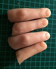 2 X Severed fingers gelatine prosthetics