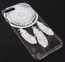 for iPhone 7 PLUS - Dream Catcher Feather Ultra Thin Soft Tpu Silicone Skin Case