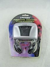 Brand New Unirex Cassette tape Player Rx-15 -Vintage