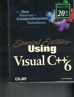 Special Edition Using: Using Visual C++ 6 by Kate Gregory (1998, Paperback)