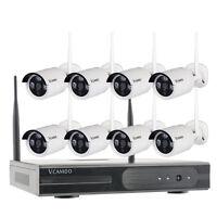 8CH exterior Cámara Inalámbrica Seguridad del hogar CCTV Sistemas de vigilancia