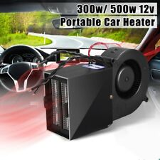 300W 500W PTC Ceramic Car Heating Heater Hot Fan Defroster Demister Safe DC 12V