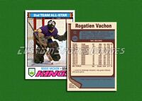 Rogie Vachon - Los Angeles Kings - Custom Hockey Card  - 1976-77