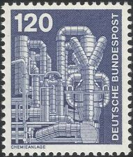 Germany 1975 Industry/Technology/Chemical Plant/Chemicals/Factory 1v (n29148m)