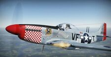 "Model Airplane Plans (UC): P-51B Mustang 37"" 1/12 Scale for .29-.45 (Musciano)"