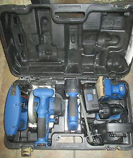 Delta Shopmaster Cordless Tool Set:  Sander/Nailer/Circular Saw/Jigsaw/Batteries