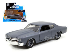 DOM'S CHEVROLET CHEVELLE SS PRIMER GREY FAST & FURIOUS MOVIE 1/32 BY JADA 97379