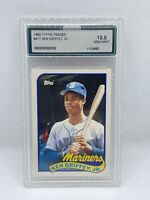 1989 Topps Traded Ken Griffey Jr. Rookie! AGS 10 🔥 RARE! MUST SEE!!