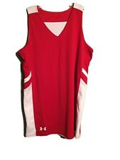 New Under Armour Red/White Reversable Jersey Sz Sm