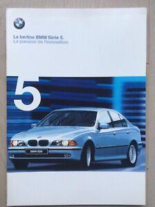 Introuvable - Brochure BMW série 5 - 1998 - Français